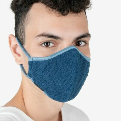 Cotton Sari Face Mask Non-Replaceable Filter