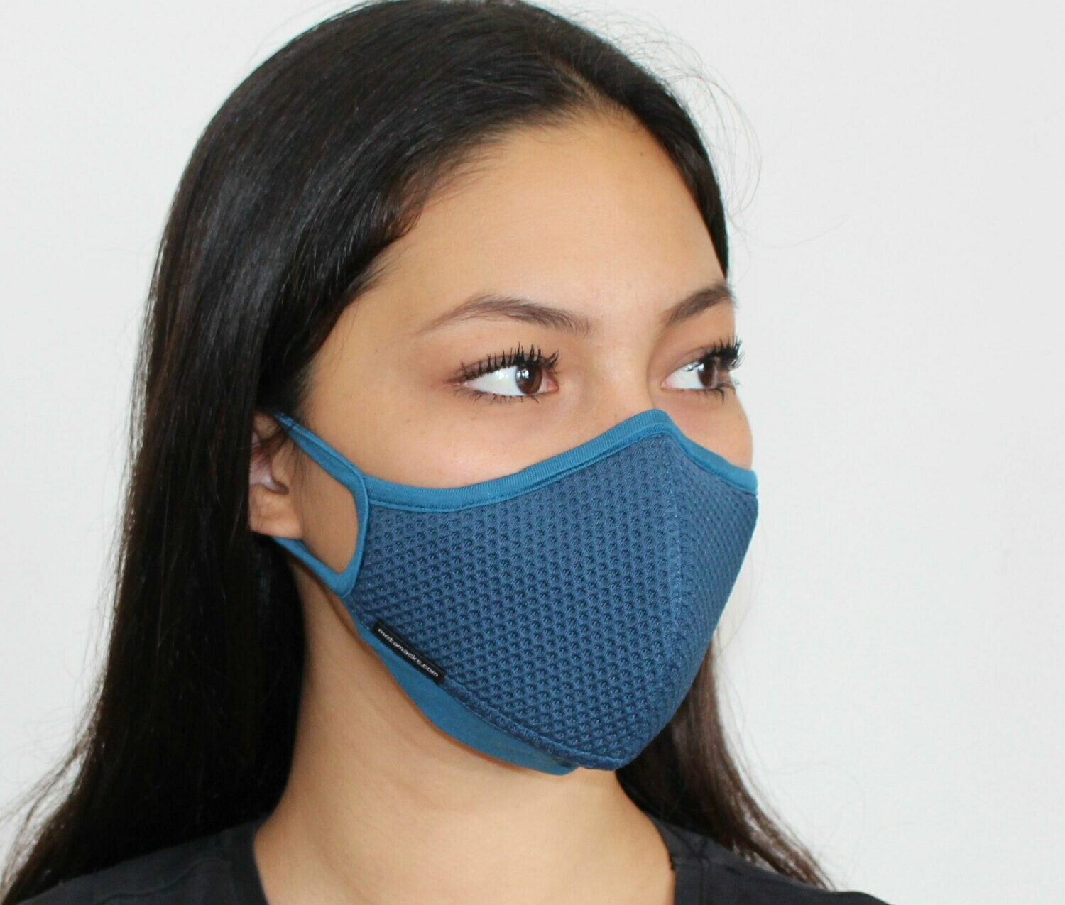 Aria Face Mask Blue Non-Replaceable Filter
