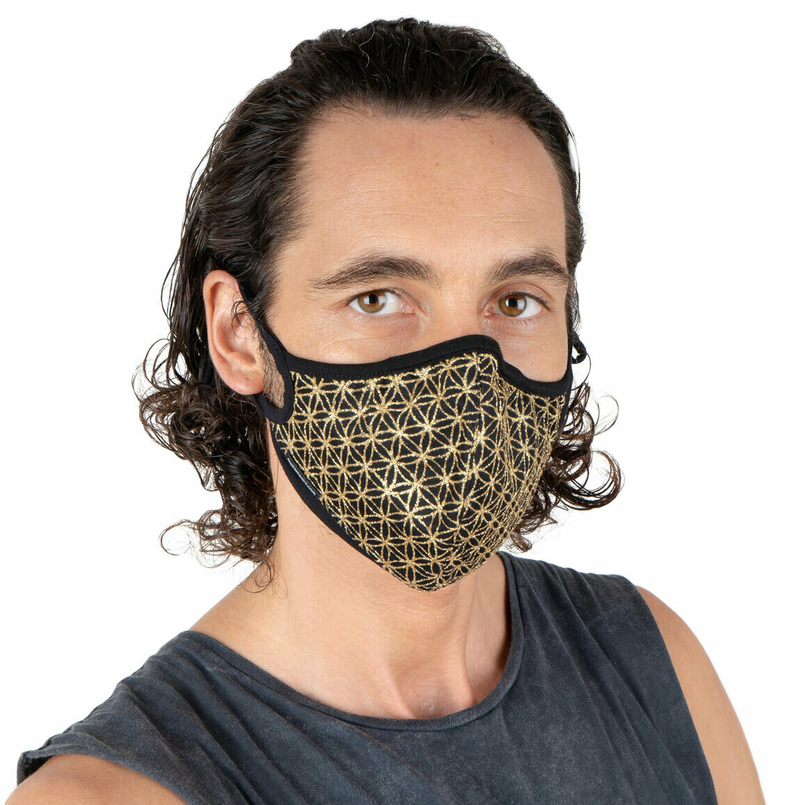 Flower of Life Sparkling Face Masks (3 colors to choose from)