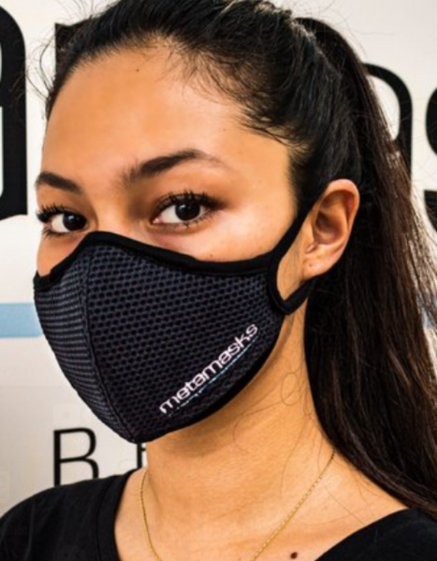 Metamasks Embroidered Logo Face mask Replaceable Filter