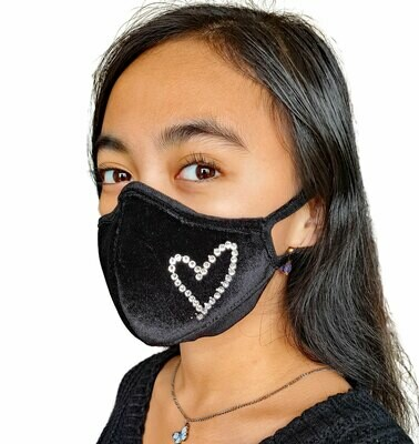 Limited Edition Facemask with Swarovski Crystals