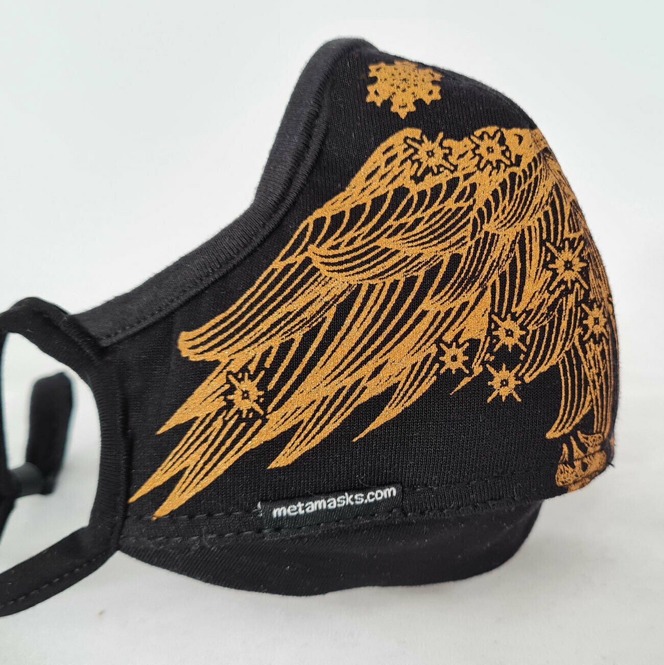 """Limited Artist Edition """"Wing of Peace""""  w/ Replaceable Filter. Face Mask. 4 color selection"""