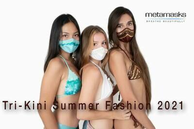 Meet the 'Trikini,' a Bikini With a Matching Face Mask