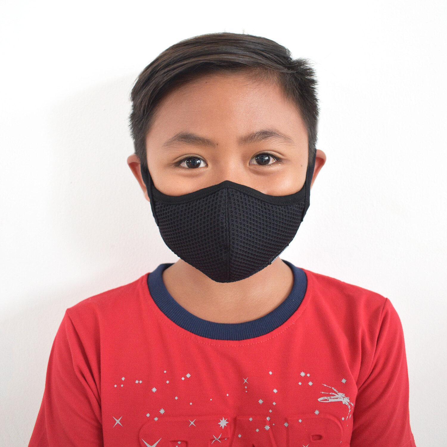 Children Aria Black Facemask Replaceable Filters