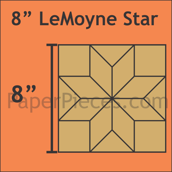 LeMoyne star 8 inch