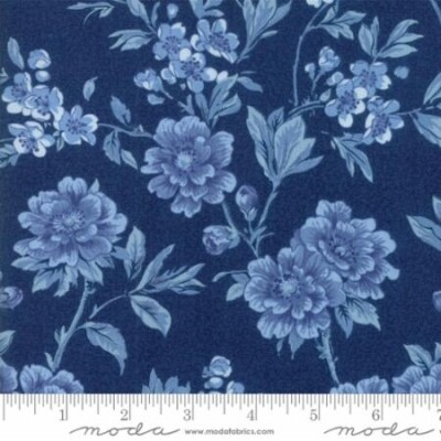 Regency Ballycastle Dark Blue Floral 42320 14