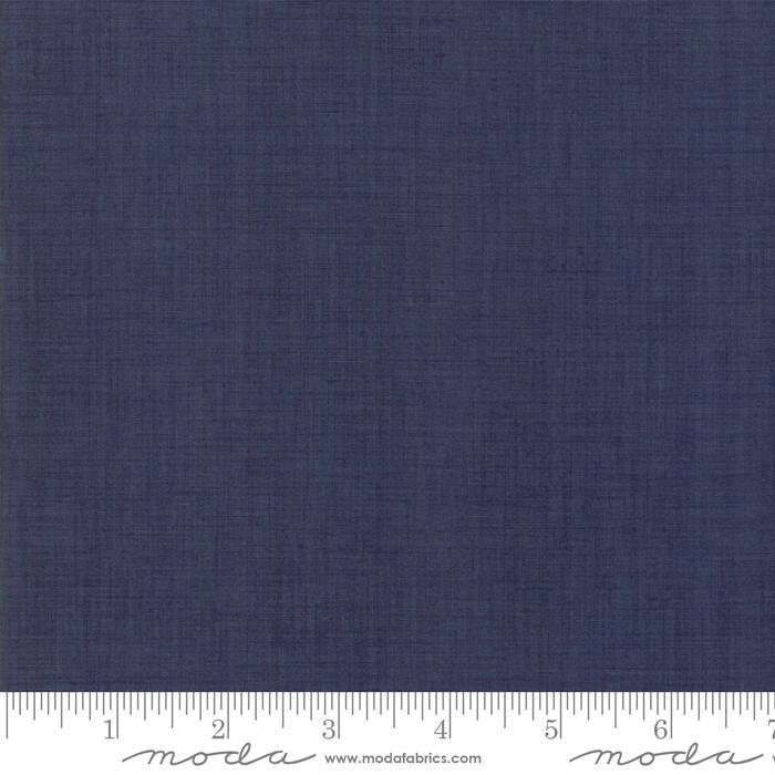 Vive La France Indigo Linen Texture 13529 158