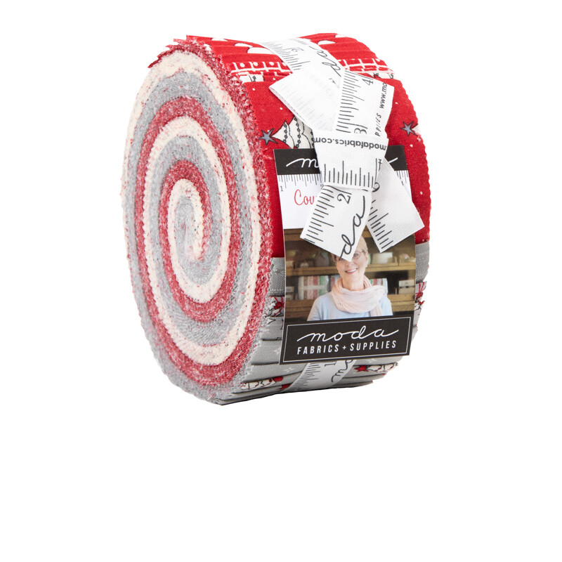 Country Christmas Jelly Roll® 2960JR Bunny Hill Designs
