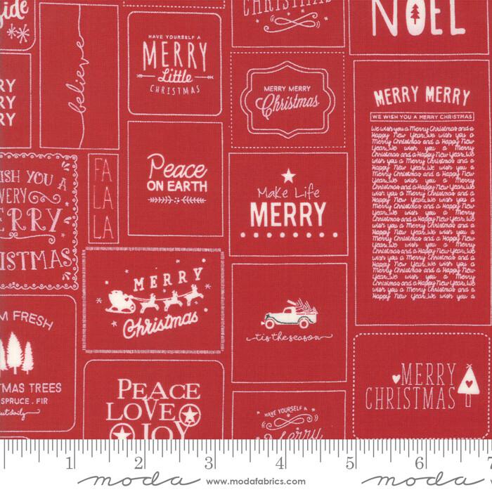 The Christmas Card Røde merkelapper