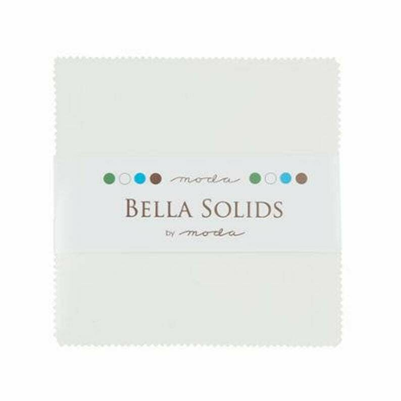 Moda Bella Solids Hvit