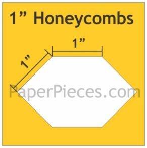 Honeycombs 600 stk 1 inch