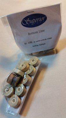 The bottom line div lyse tråder