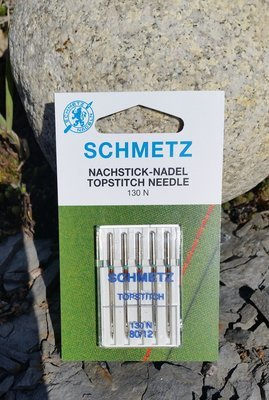 Schmetz Topstich symaskin nål 80/12