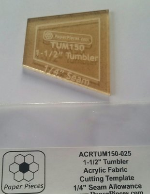 Akryl skjæremal Tumbler 1 1/2 inch