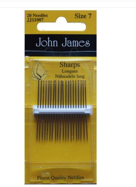 Synåler John James size 7