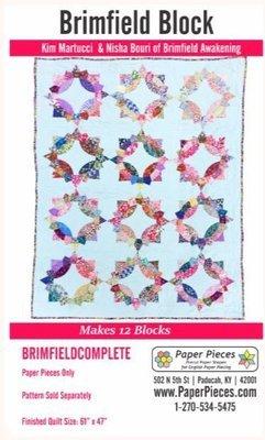 Brimfild Papirmaler 12 stk blokker