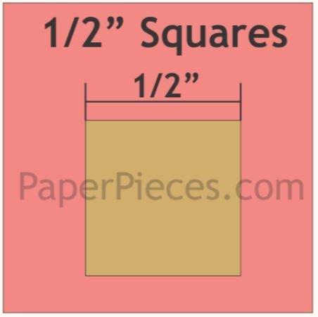 Kvadrat 1/2 inch 125 biter