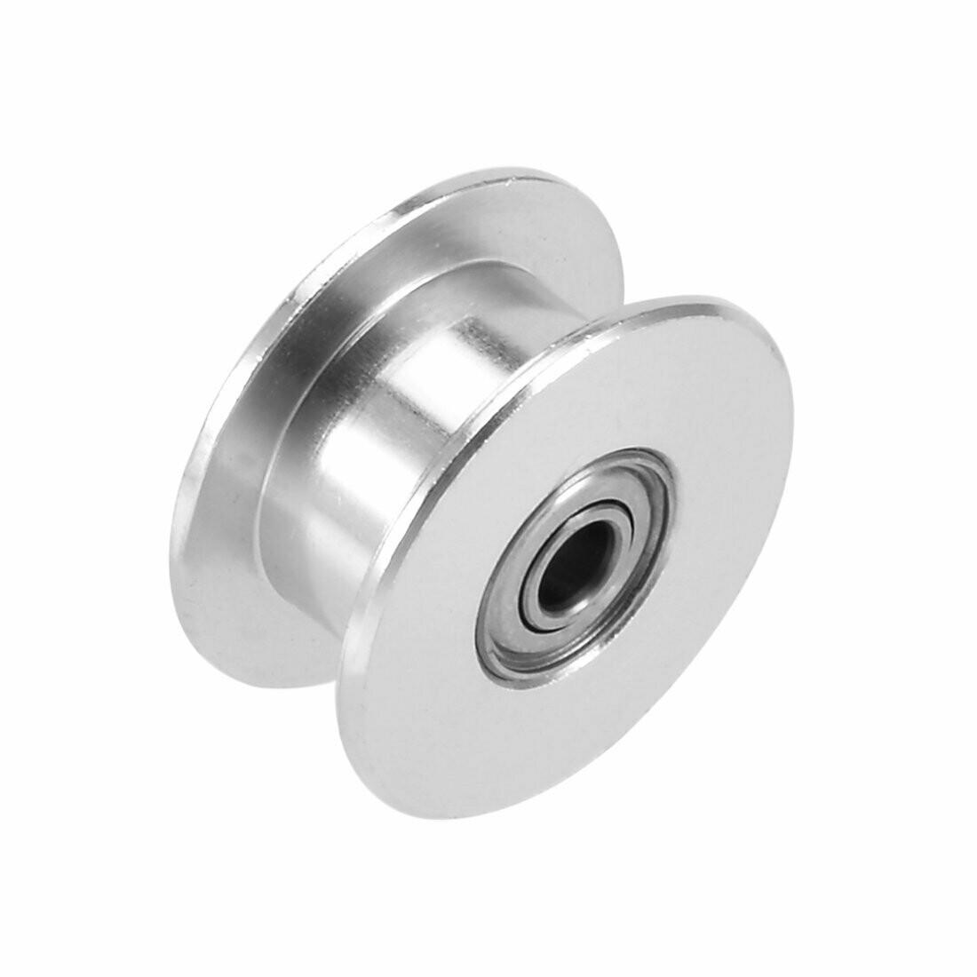 Алюминиевый холостой ролик, d-5 мм,2GT ремнь 6 мм