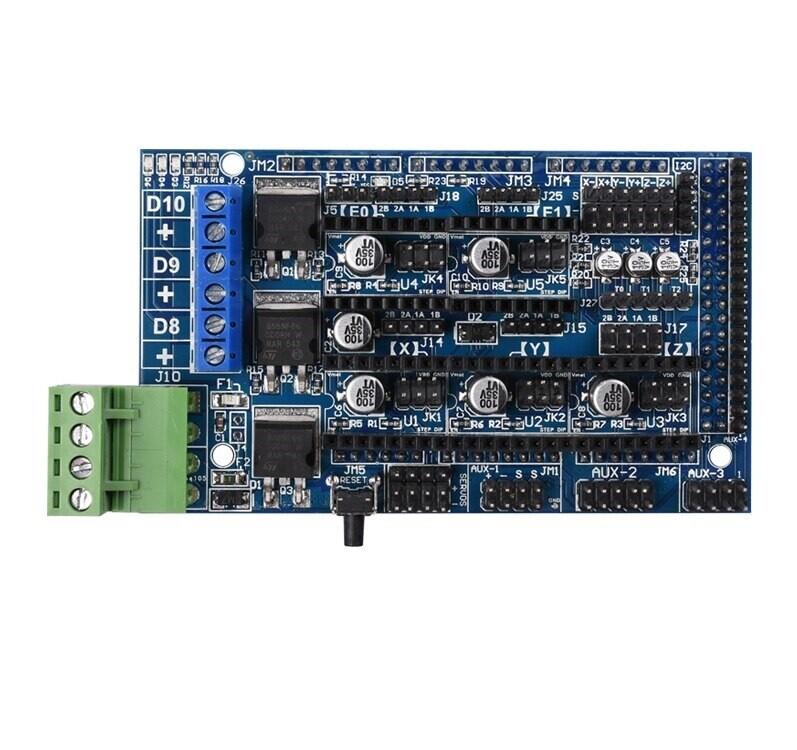RAMPS1,5 на платформе 1,4  поддержка A4988 Drv8825 TMC2130 Reprap