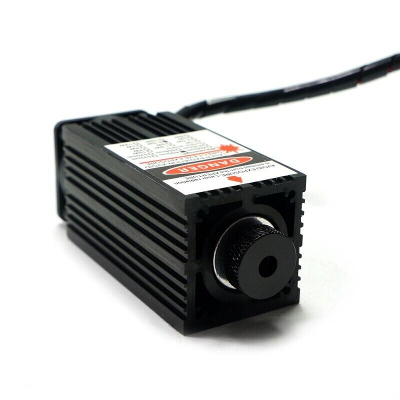 Лазерный модуль 450нм 2500 мВт , TTL 12 В DIY  + очки