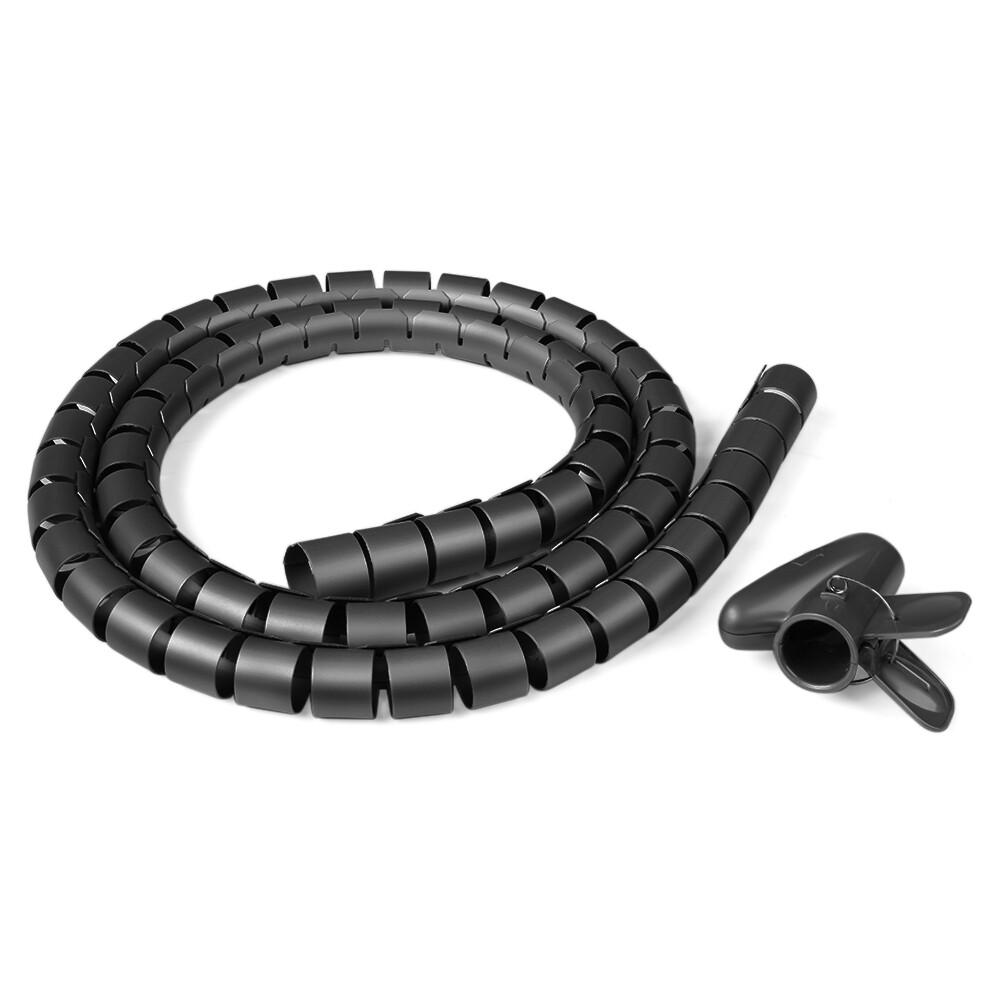 Рукав спиральный для кабеля, 22мм х 1,5метра
