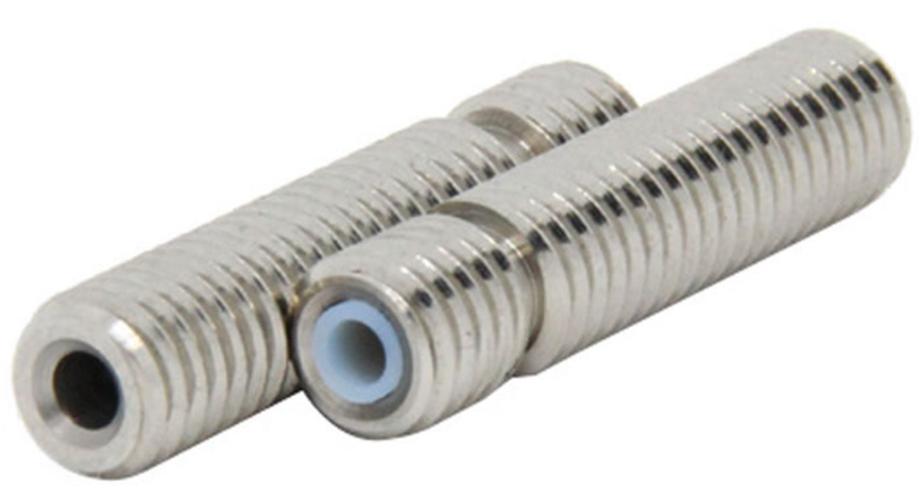 Трубка с тефлоновой вставкой  (термобарьер для хотэнда) M6 * 40мм
