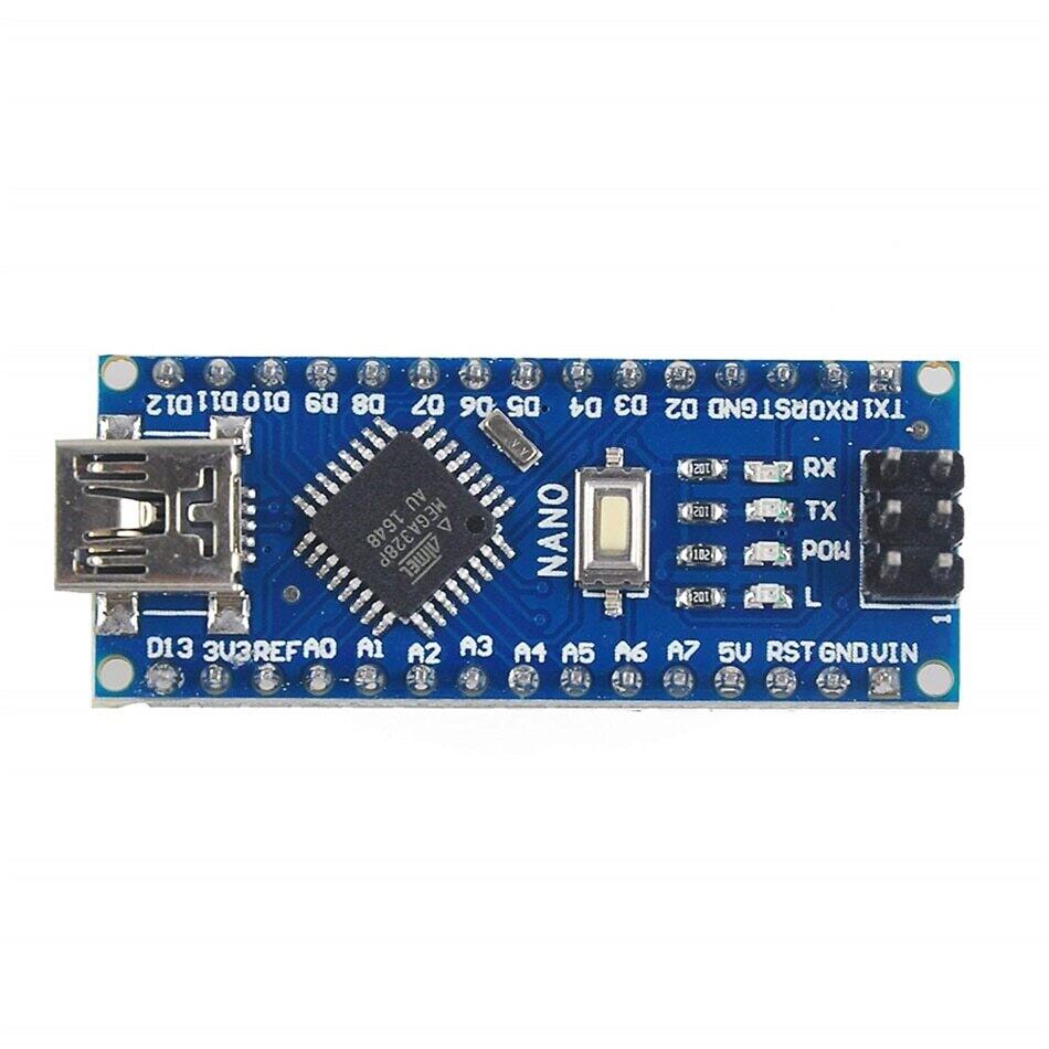Arduino Nano V3.0 Mini USB ATmega328 5V 16M в сборе