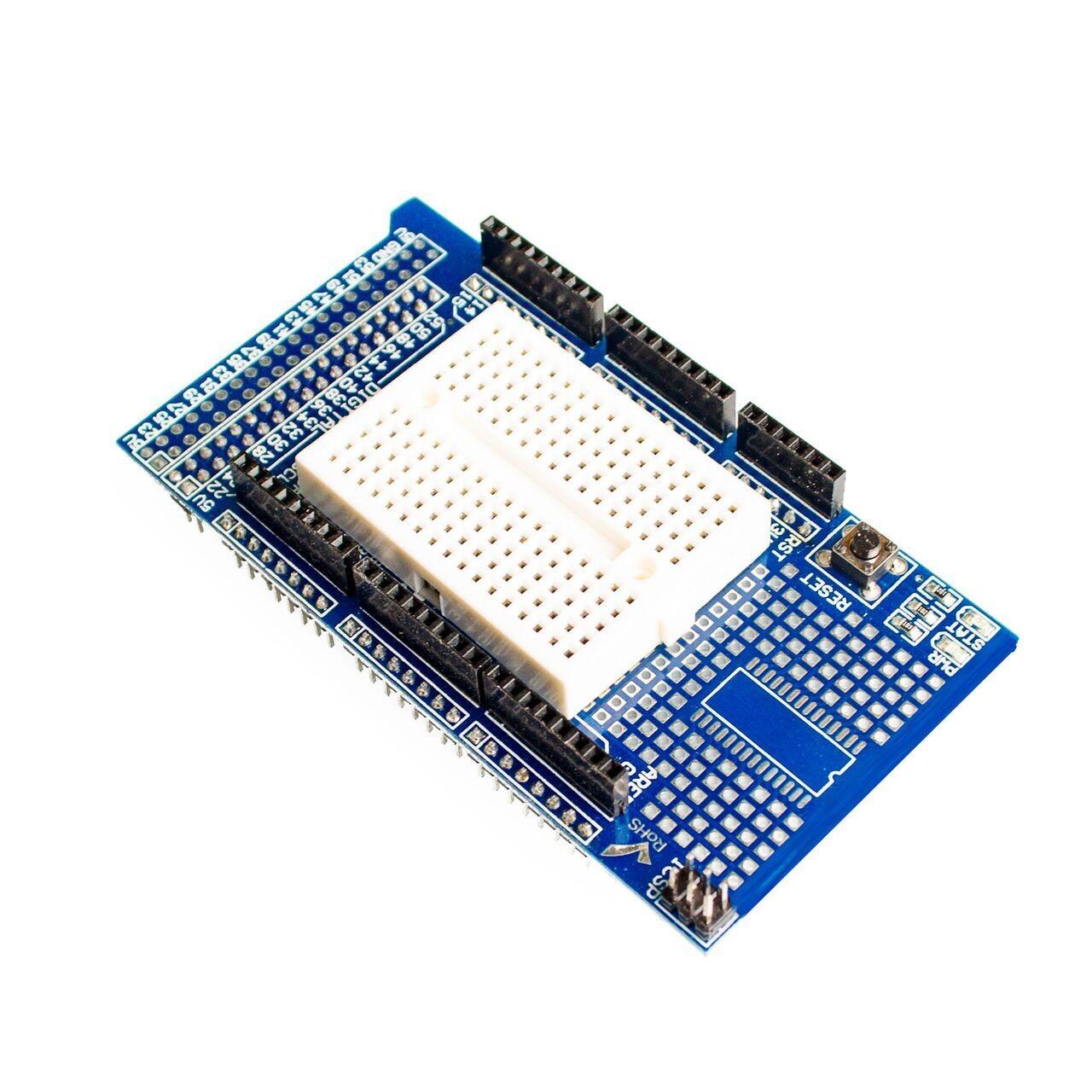 Плата расширения для Arduino MEGA 2560 R3 c макеткой на 170 точек