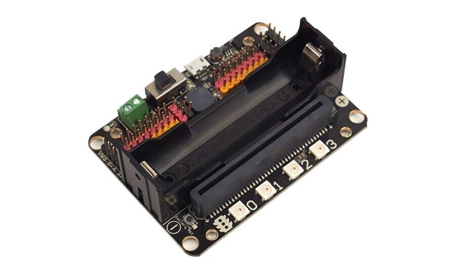 Плата расширения Robotbit-поддержка программирования с 18650 литиевой перезаряжаемой батареей
