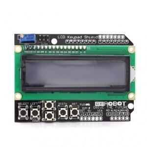 LCD Keypad Shield 1602 для arduino