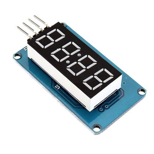 TM1637, 4 бита матричный модуль