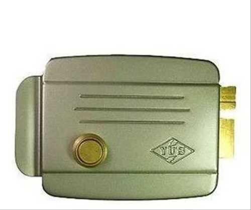"""Замок """"EL-370 A"""" электромеханический(внутрь) 12V DC 1A при 24V AC ток: 400mA Внутренняя кнопка для открывания 45х105х50мм"""