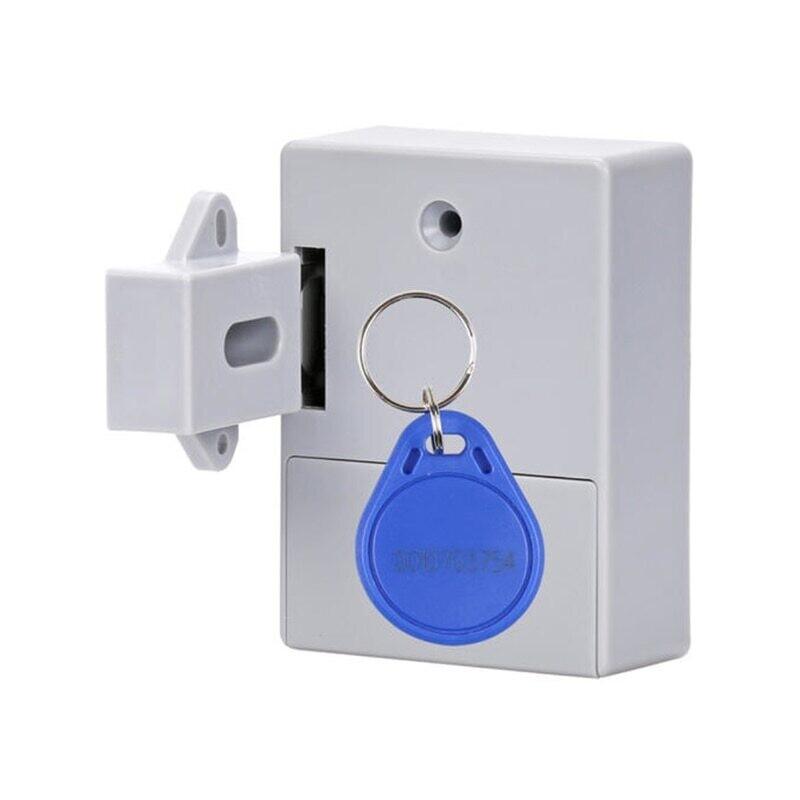 Электронный дверной замок для шкафа,ящика(скрытый) 125 кГц EM RFID ,АА питание