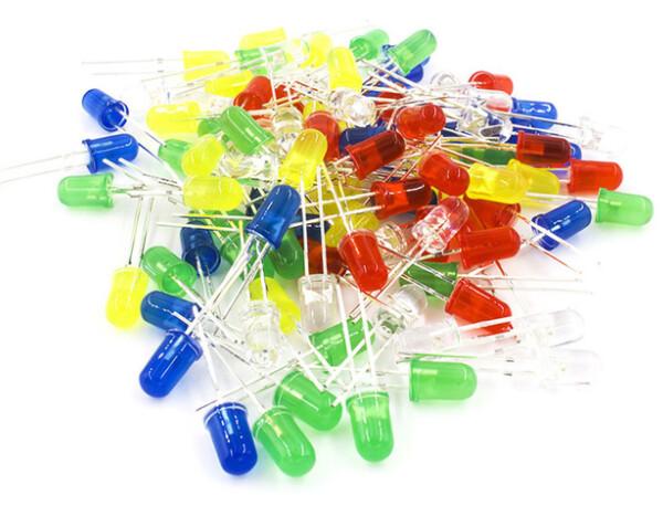 Светодиоды цветные 5мм(10шт)
