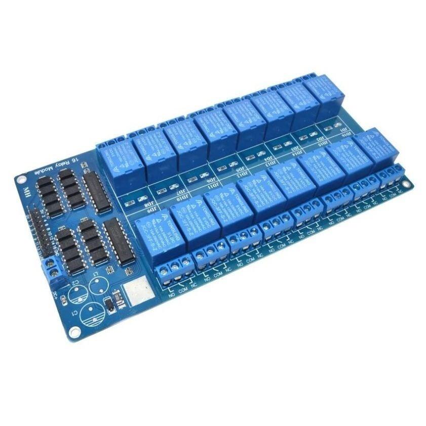 12 В 16-канальный релейный модуль для Arduino
