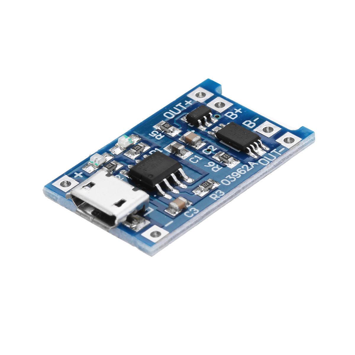 Модуль зарядки литиевой батареи микро USB 1 А