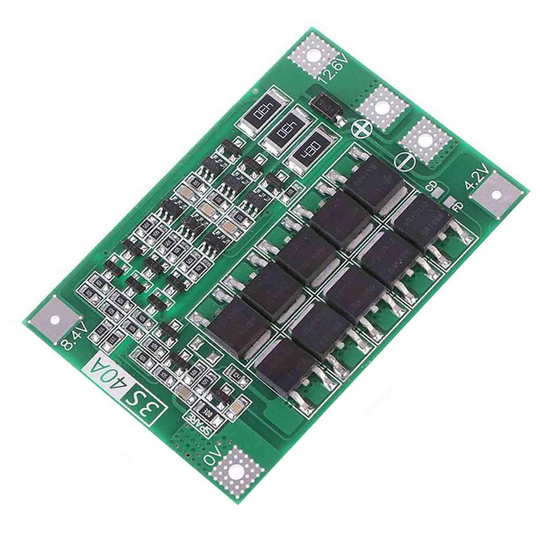 Модуль зарядки 3S 40A литий-ионные аккумуляторы BMS, защитная плата12,6 V с балансом