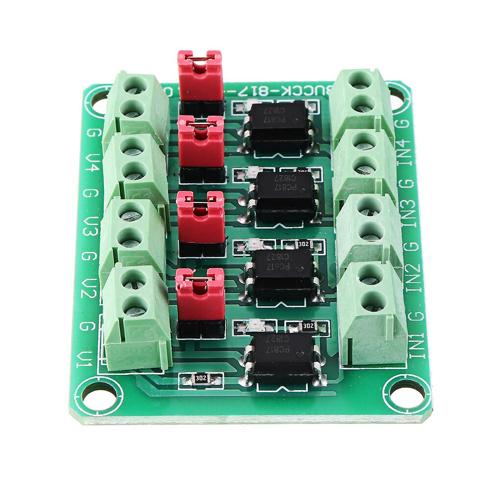 PC817 4 канальный модуль оптопары 3,6-30 V