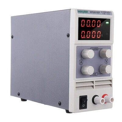 Wanptek KPS3010DF 0-30 В 0-10A 110 В / 220 В Регулируемый источник питания постоянного тока LED