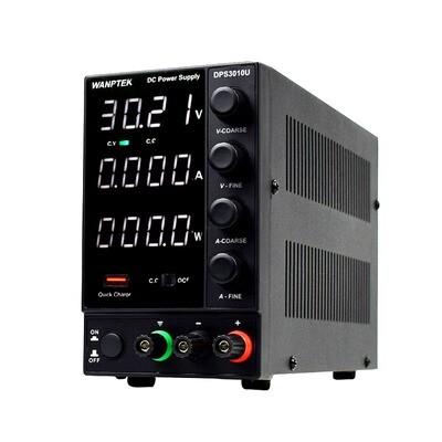 Wanptek DPS3010U 0-30 В 0-10A 110 В / 220 В Регулируемый источник питания постоянного тока LED