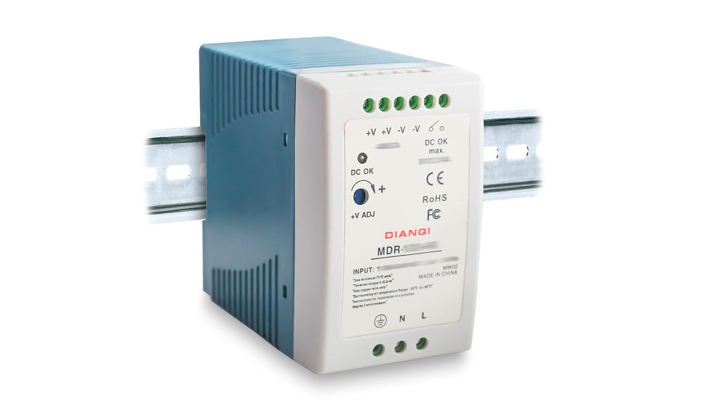 MDR-100-15, Блок питания, 15В, 6.67А, 100Вт, DIN-рейка