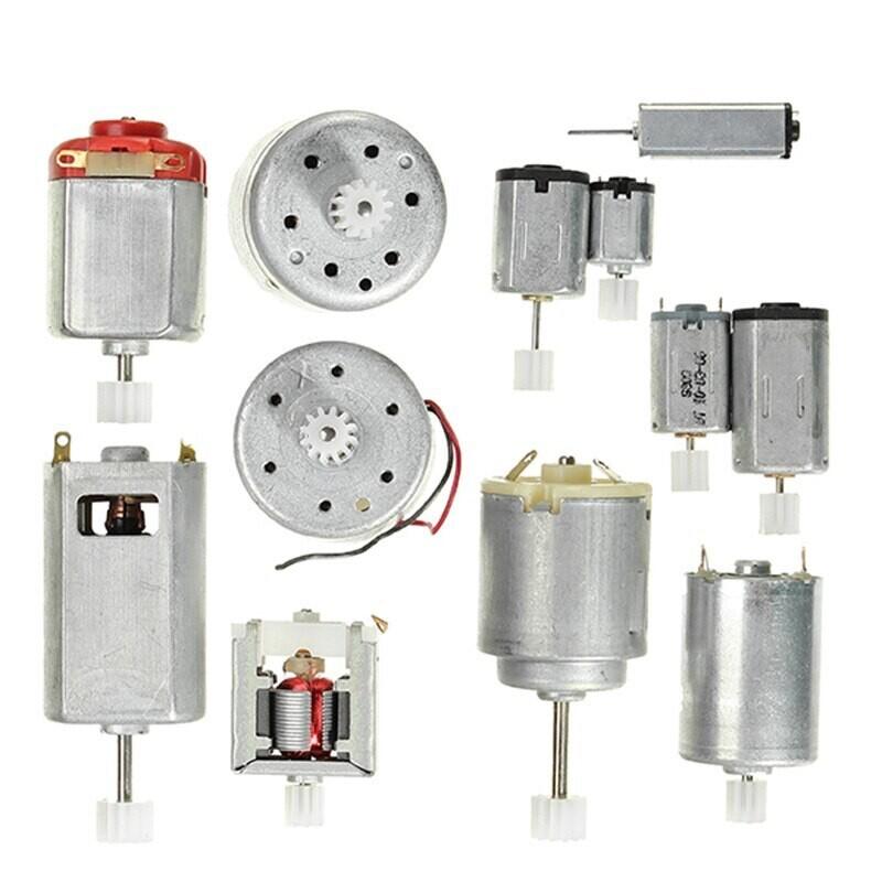 Micro dc-мотор с шестерней 3-6v, на выбор 1шт