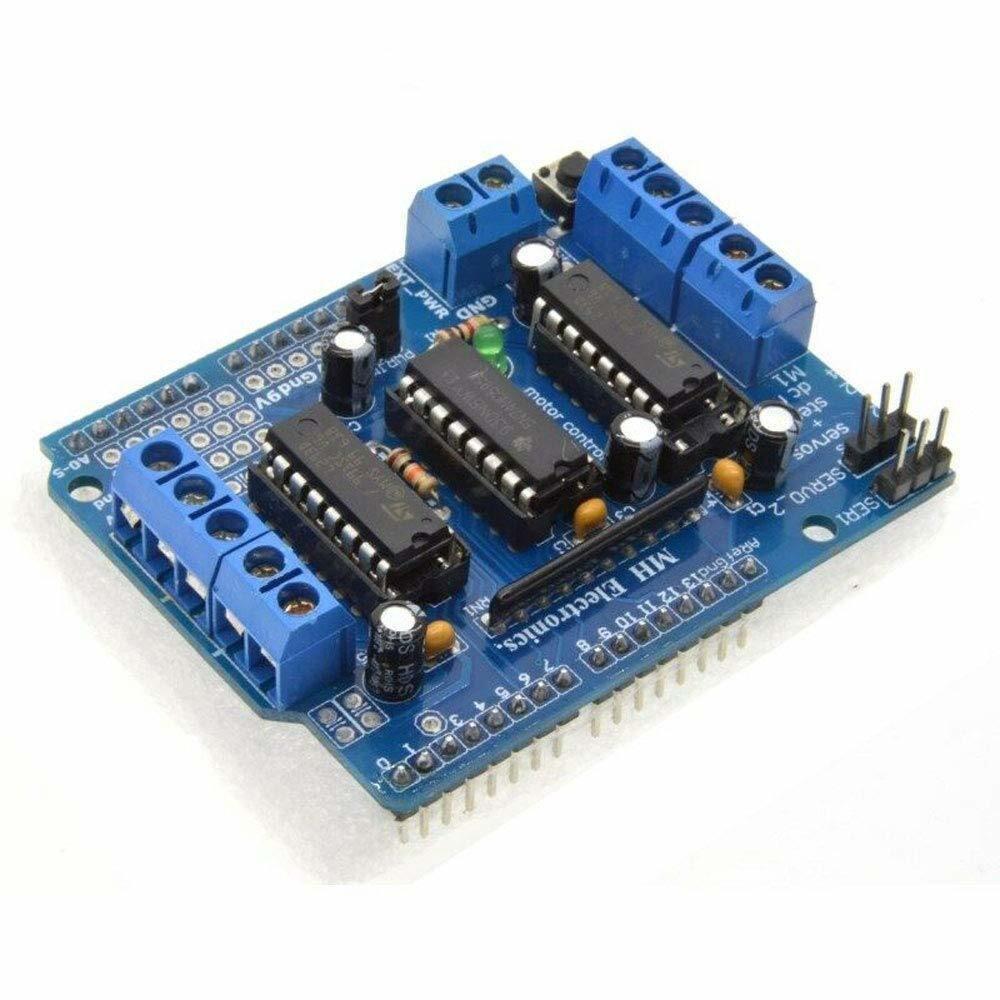 Модуль управления двигателем L293D плата расширения для Arduino Motor Shield