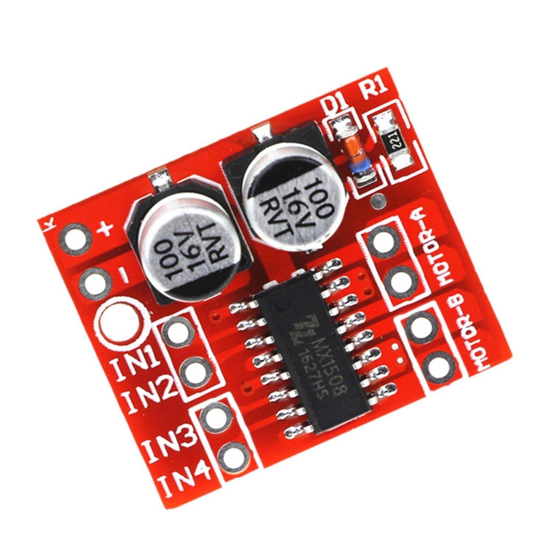 Драйвер L298N 5  1.5A 2-полосный MX1508