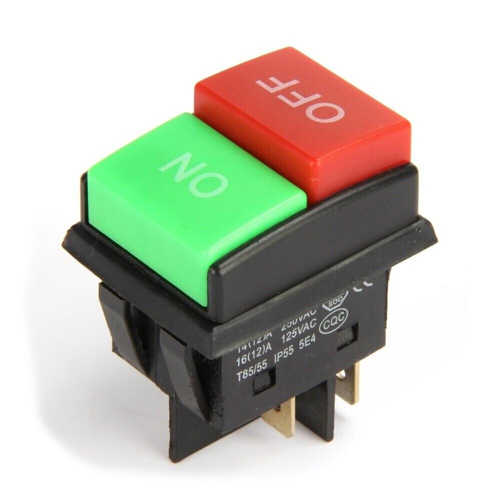 Переключатель JD03-C1 KCD2 4pin 250V 16A