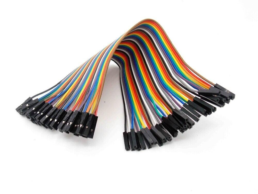 Провода комплект 40шт, 20см-30см, мама-мама