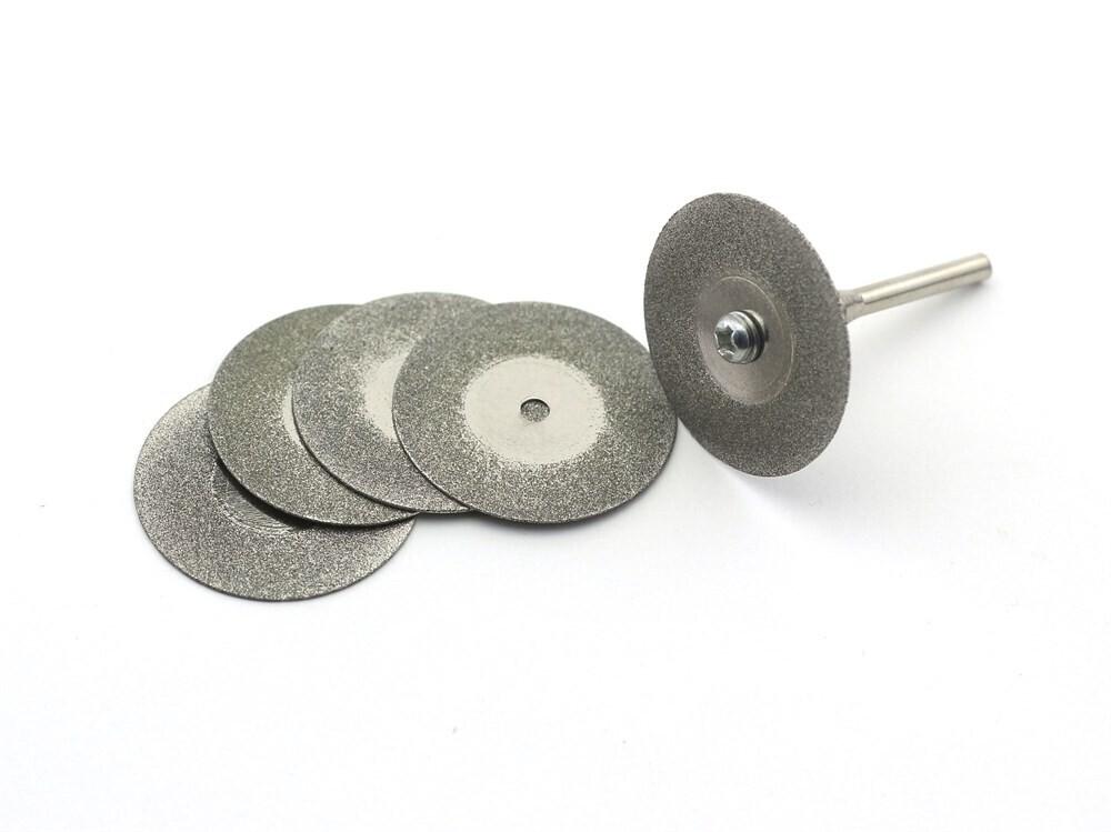 Режущий алмазный диск 35мм 5шт+держатель