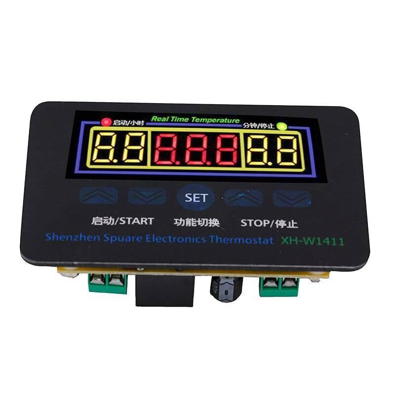 Терморегулятор (встройка) W1411 AC 220 В светодиодный 10A переключатель сенсор