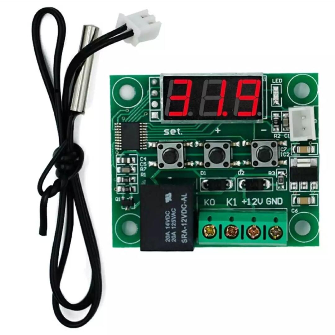 Модуль W1209 12В регулировки температуры
