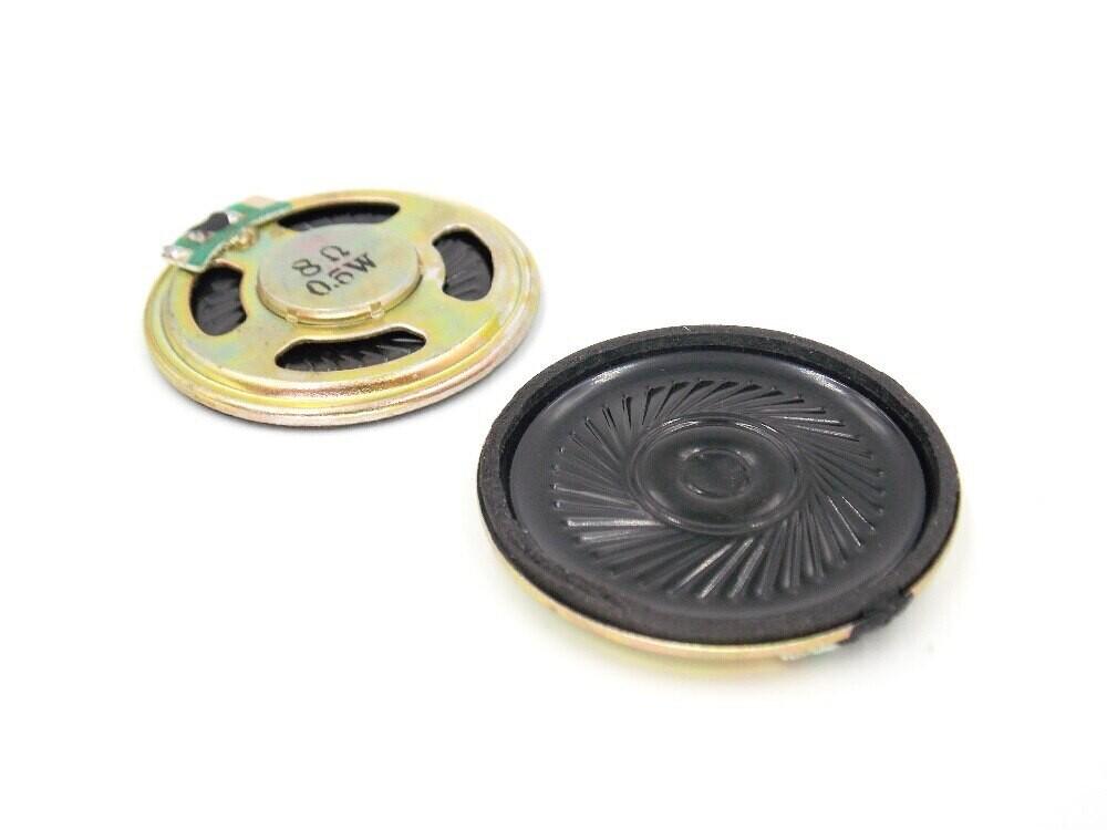 Динамик 8 Ом 0,5 Вт, 40 мм *4 см диаметр 8R